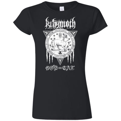 Kittymoth God=Cat T-Shirt-Apparel-Brutal Kittens