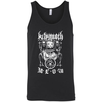 Kittymoth MEOW Tank Top-Apparel-Brutal Kittens