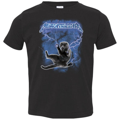 Meowtallica Hide From The Lightning Kids-Apparel-Brutal Kittens