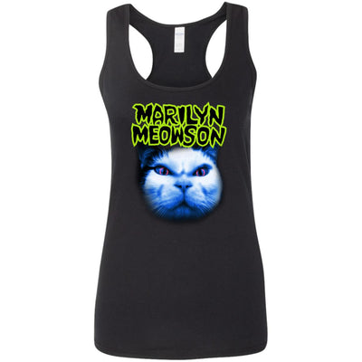 Marilyn Meowson Tank Top-Apparel-Brutal Kittens