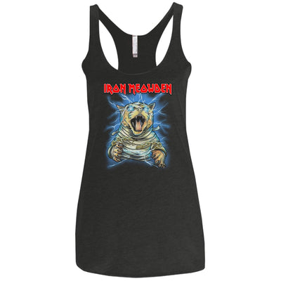 Iron Meowden Pawerslave Tank Top-Apparel-Brutal Kittens