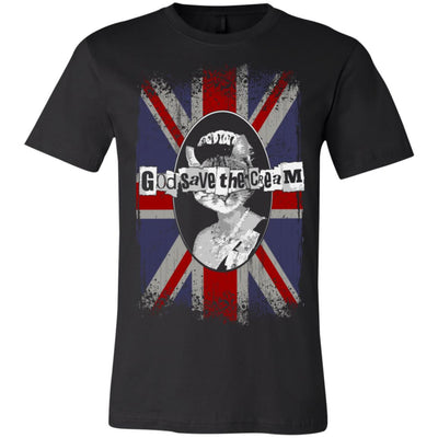God Save The Cream T-Shirt-Apparel-Brutal Kittens