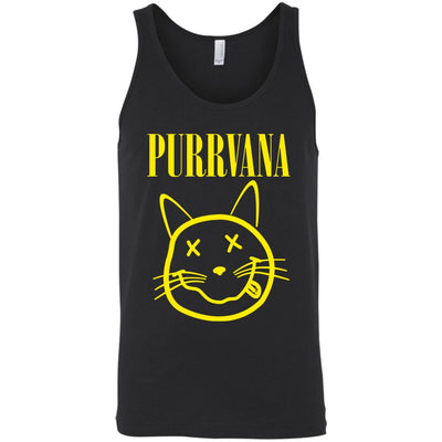 Purrvana Tank Top-Apparel-Brutal Kittens