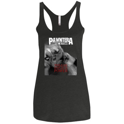 Pawntera Vulgar Display Of Power Tank Top-Apparel-Brutal Kittens