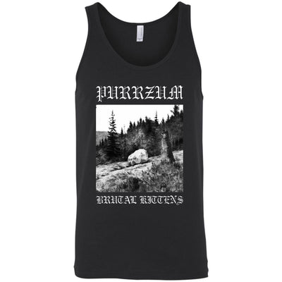 Purrzum Tank Top-Apparel-Brutal Kittens