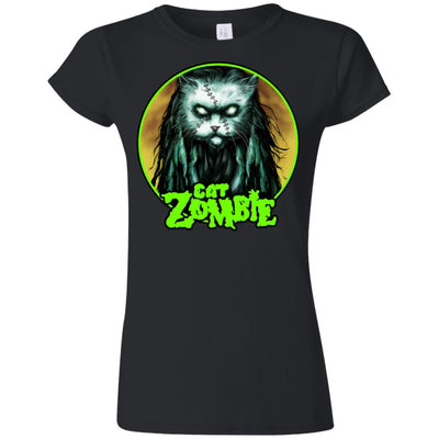 Cat Zombie T-Shirt-Apparel-Brutal Kittens