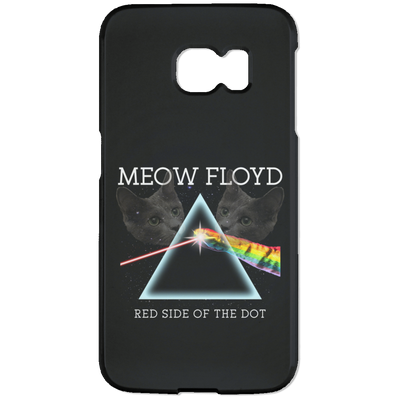 Meow Floyd Phone Case-Apparel-Brutal Kittens