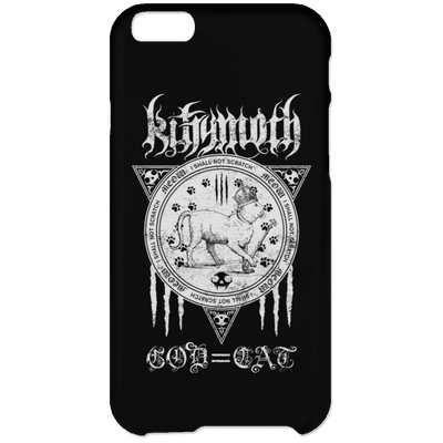 Kittymoth God=Cat Phone Case-Apparel-Brutal Kittens