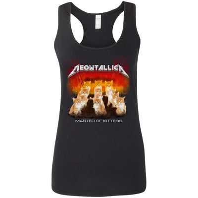 Meowtallica Master Of Kittens Tank Top-Apparel-Brutal Kittens