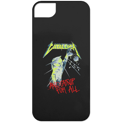 Catallica Catnip For All Phone Case-Apparel-Brutal Kittens