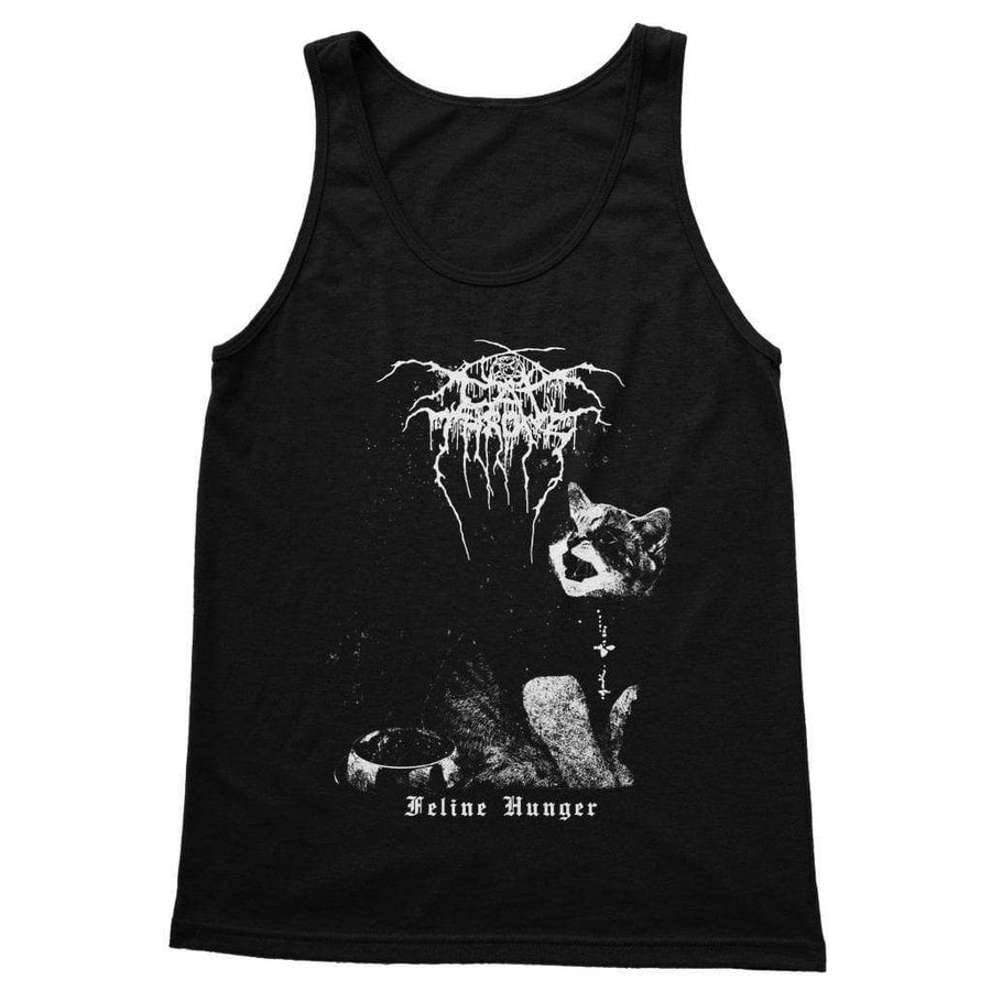 Brutal Kittens Cat Throne Unisex Tank Top