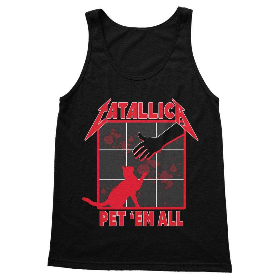 Brutal Kittens Pet 'Em All Unisex Tank Top
