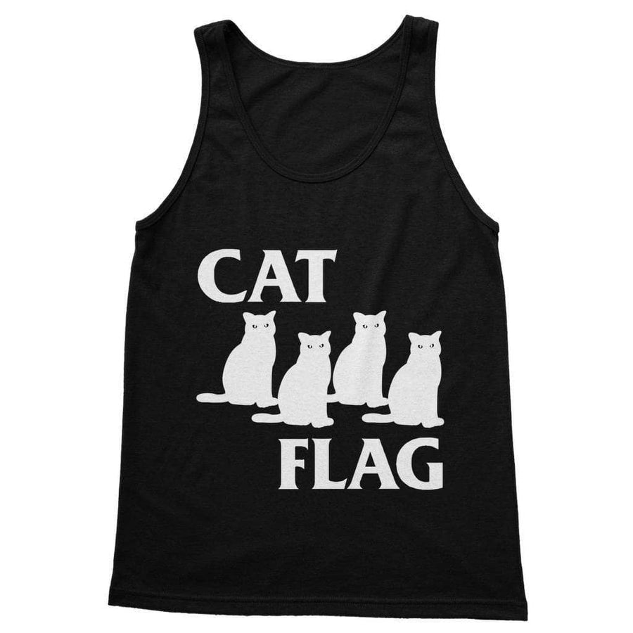 Brutal Kittens Cat Flag Unisex Tank Top