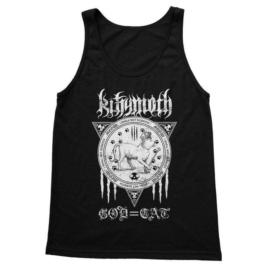 Brutal Kittens Kittymoth God=Cat Unisex Tank Top