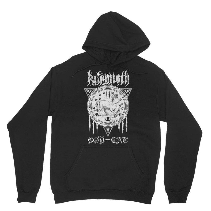 Brutal Kittens Kittymoth God=Cat Unisex Hoodie