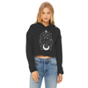 Maneki Neko Women's Cropped Raw Edge Hoodie