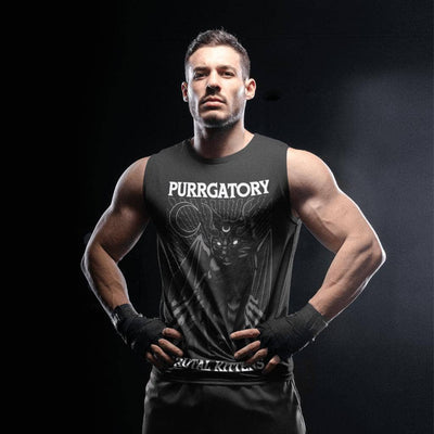 Purrgatory Unisex Muscle Top-Apparel-Brutal Kittens