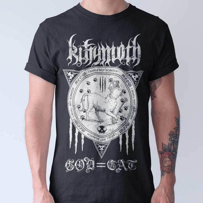 Kittymoth God=Cat Unisex T-shirt