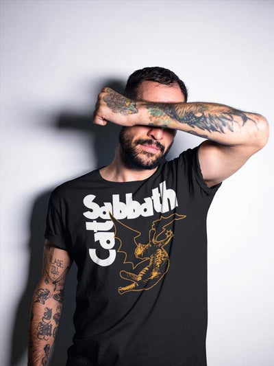 Brutal Kittens Cat Sabbath - Fallen Angel Unisex T-shirt