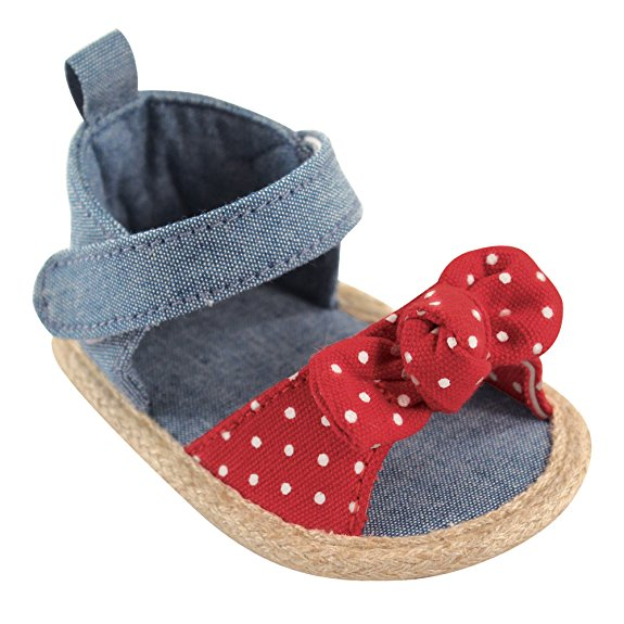 LUVABLE FRIENDS BABY GIRL BOW SANDAL
