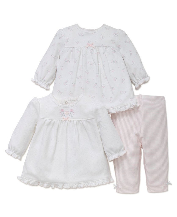 Delicate Petals 2-Pack Tunic & Legging Set