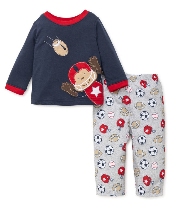Sports Star Pajama Set