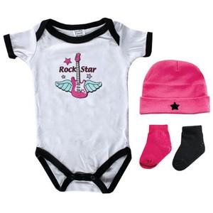 4-PIECE REBEL BABY GIFT SET
