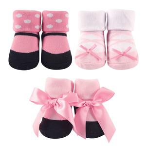 LUVABLE FRIENDS DECORATED SOCKS GIFT SET