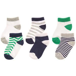 LUVABLE FRIENDS 6-PACK NO SHOW SOCKS