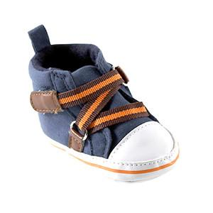 BOY ZIG ZAG HI-TOP, BLUE