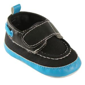 LUVABLE FRIENDS BRIGHT BOYS BOAT CRIB SHOES