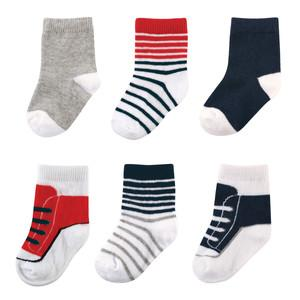LUVABLE FRIENDS SHOE SOCKS FOR BOY