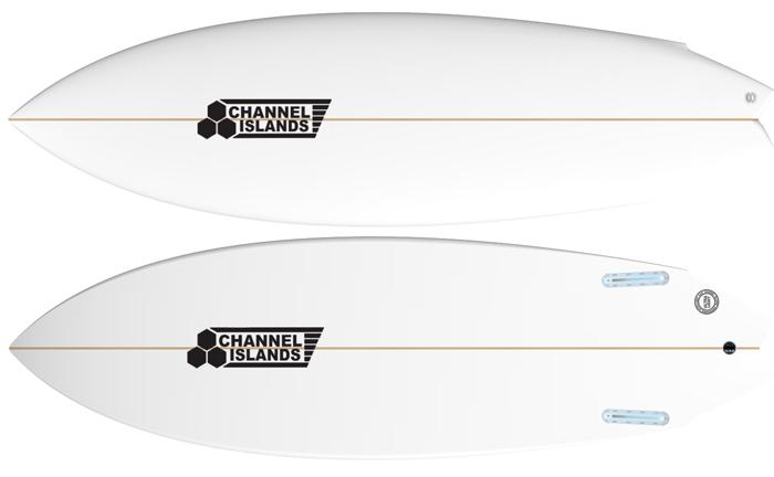 Surfboard Review: Channel Islands Twin Fin Surfboard