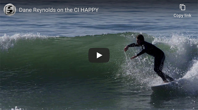 Dane Reynolds on the CI Happy