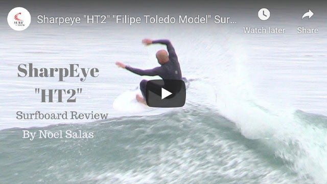 Surf 'n Show Surfboard Reviews: Sharp Eye HT2 Surfboard