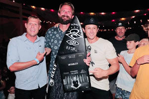 Mick Fanning Selects Spine-Tek Fever for Stab in the Dark