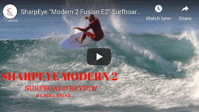Surf 'n Show Surfboard Reviews: Sharp Eye Modern 2 Surfboard