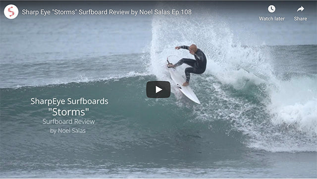Sharp Eye STORMS Surfboard Review
