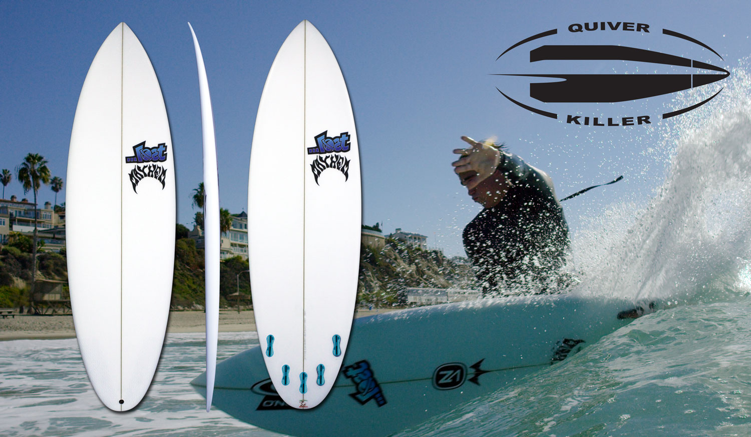 Lost Quiver Killer Surfboard