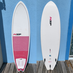 NSP Boarding for Breast Cancer Surfboard Demo