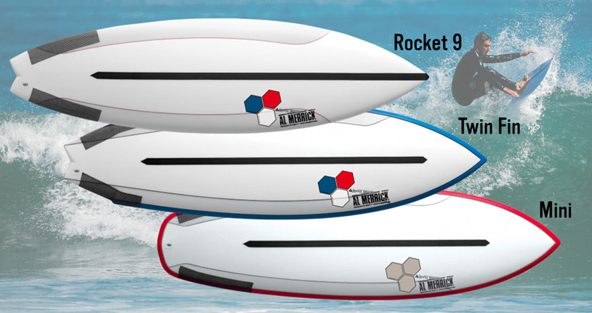 Channel Islands Fusion Dual Core Surfboards