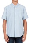 Volcom Everett Youth Boy's S/S Dress Shirt
