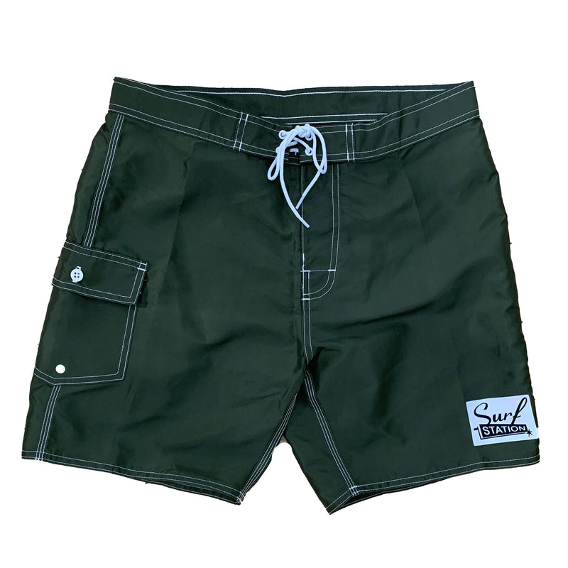 Surf Station Dora Flight Men's Satin Boardshorts