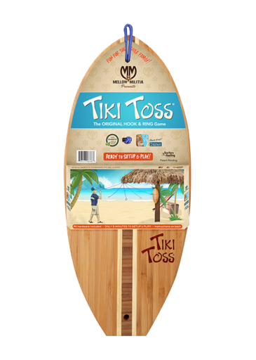 Tiki Ring Toss Game