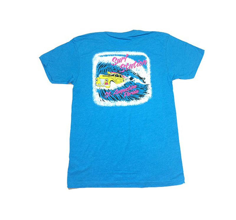 Surf Station Shooting Barrel Men's T-Shirt