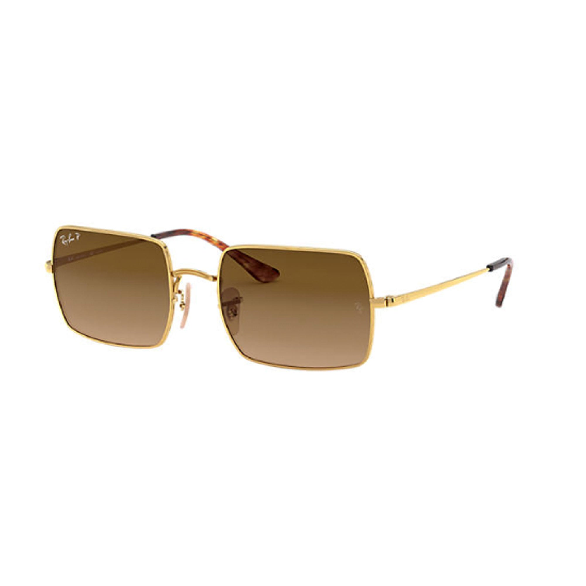Ray-Ban Rectangle 1969 Sunglasses - Polarized - Gold/Brown