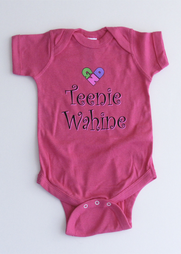Girl Next Door Teenie Wahine Infant Onesie
