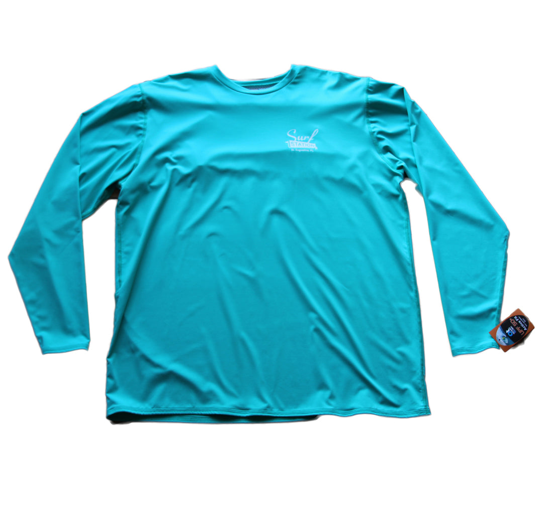 Surf Station Men's Vented L/S Rashguard