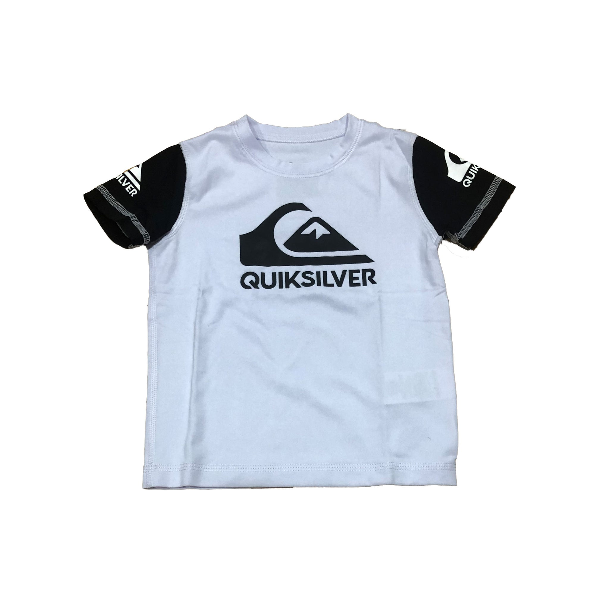 Quiksilver Heats On Boy's S/S Rashguard