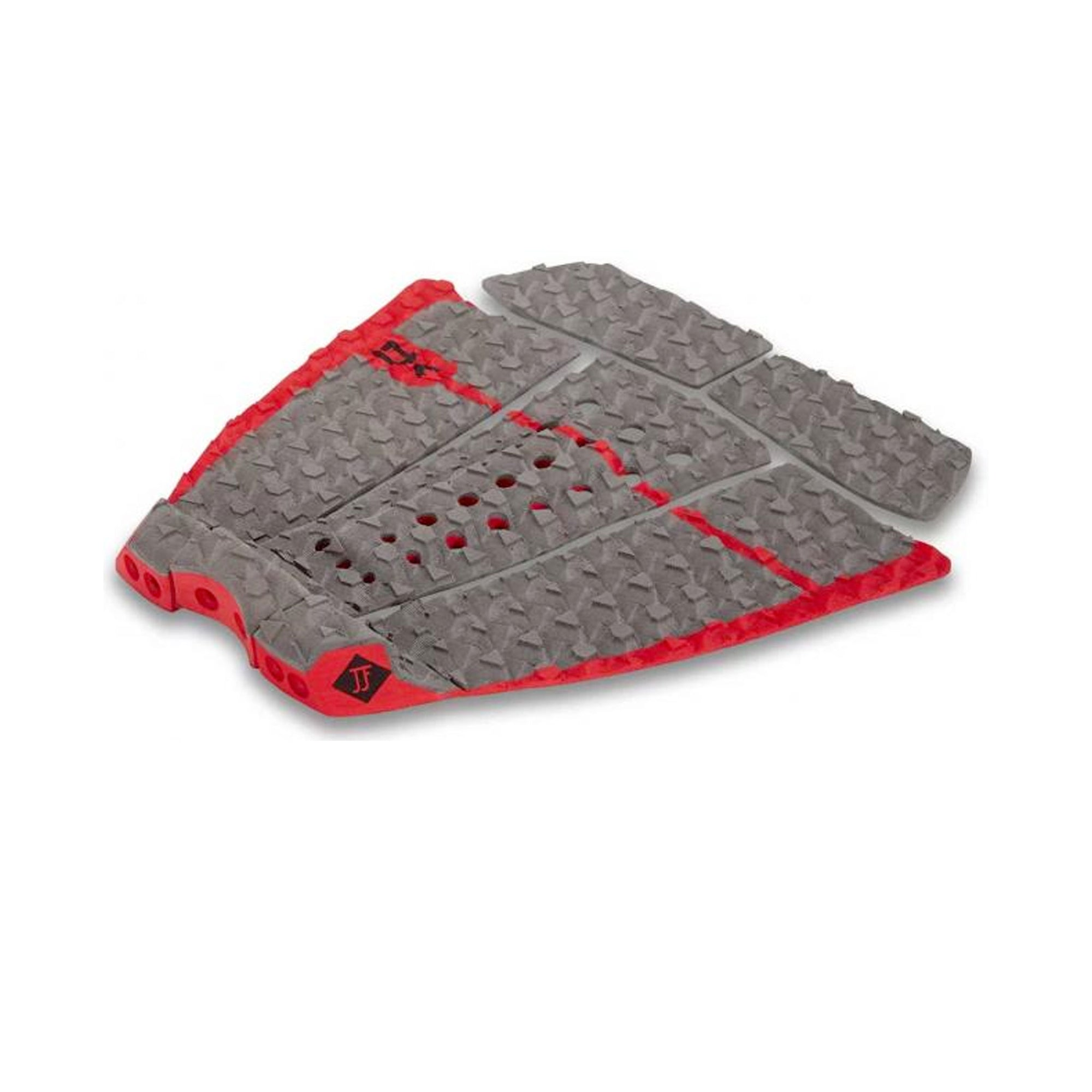Dakine John John Florence Friendly Foam Arch Traction Pad - Carbon/Red